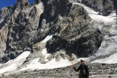 Alpinisme dans le massif des Ecrins, le glacier Noir
