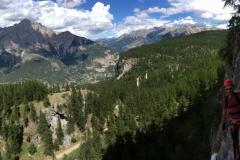 Via Ferrata de Tournoux, massif des Ecrins