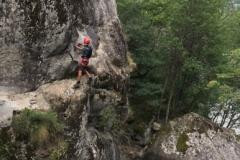 Via Ferrata de Pelvoux, massif des Ecrins