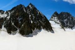 Glacier Blanc, Barre et Dôme des Ecrins